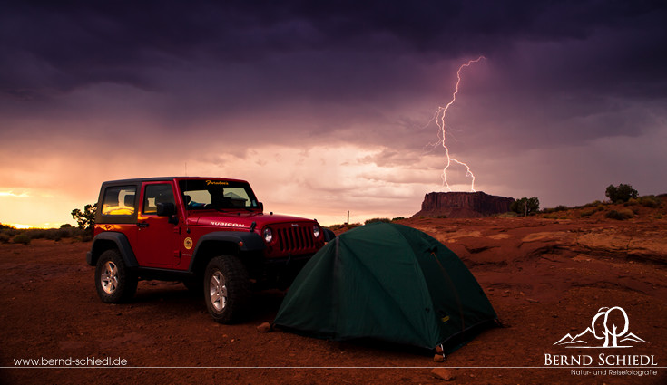 Lightning in Canyonlands NP
